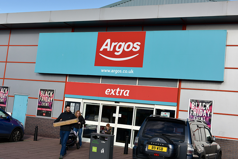 Argos Greyhound Retail Park