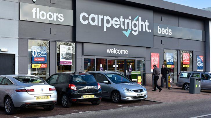 Carpetright Greyhound Retail Park