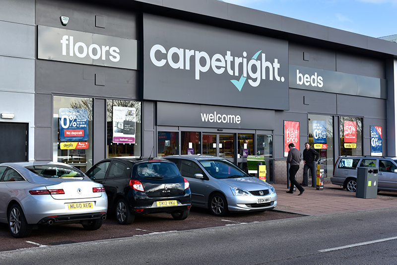 Carpetright Greyhound Retail Park