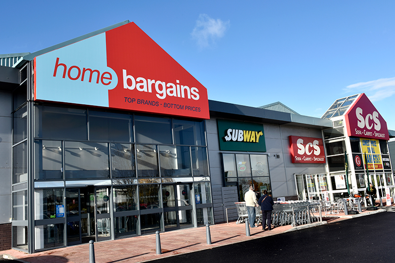 Home Bargains Greyhound Retail Park