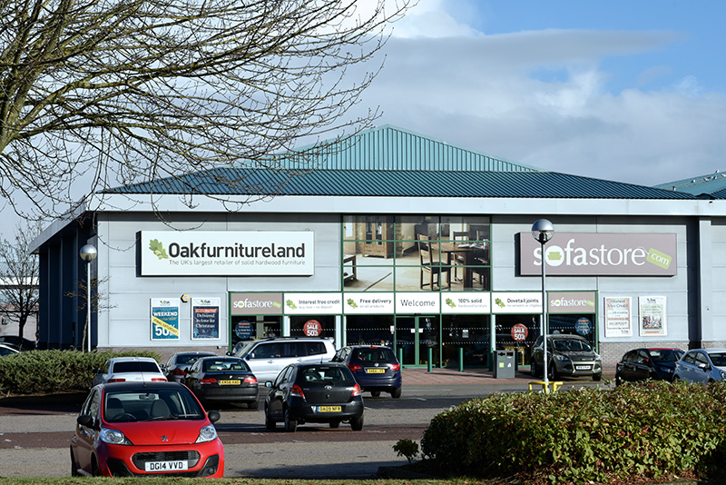 Oak Furnitureland Greyhound Retail Park