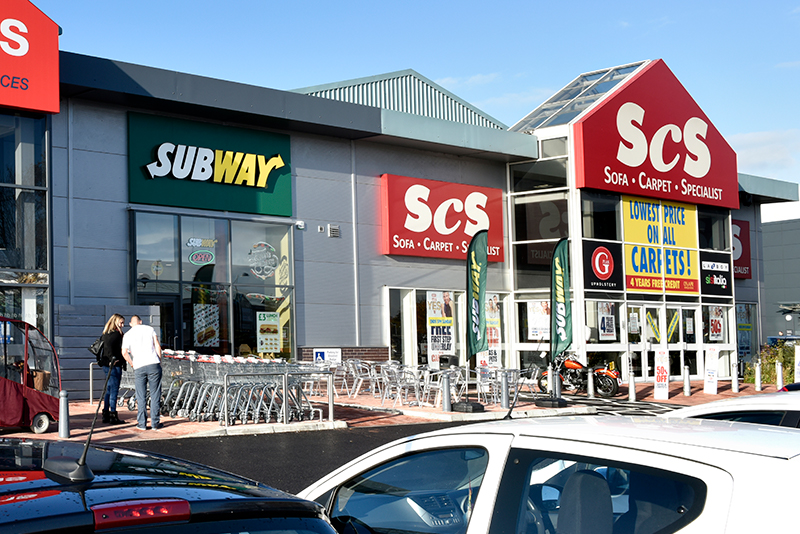 Subway Greyhound Retail Park